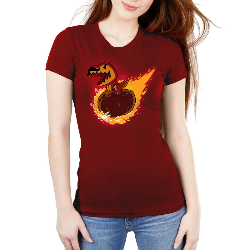 T-Wrecks Women's Ultra Slim T-Shirt Model TeeTurtle
