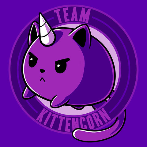 Team Kittencorn t-shirt TeeTurtle Minis
