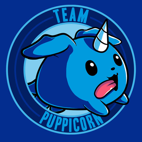 Team Puppicorn t-shirt TeeTurtle Minis