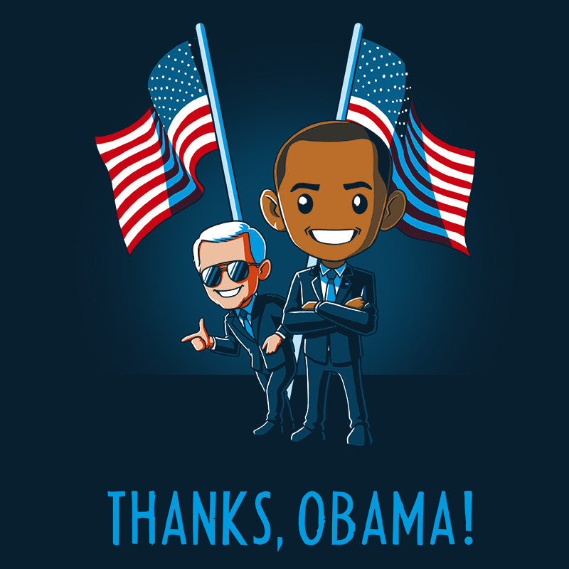 Thanks, Obama! t-shirt TeeTurtle