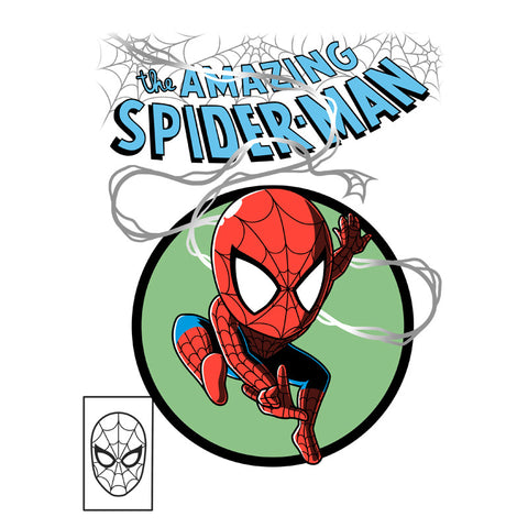 The Amazing Spider-Man T-Shirt Marvel TeeTurtle
