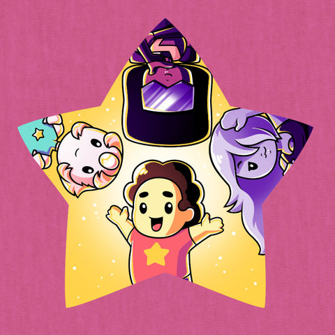 The Crystal Gems T-Shirt Steven Universe TeeTurtle