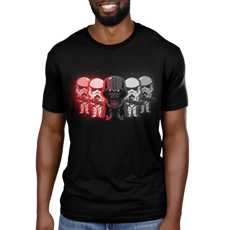 The Dark Side Men's T-Shirt Model Star Wars TeeTurtle