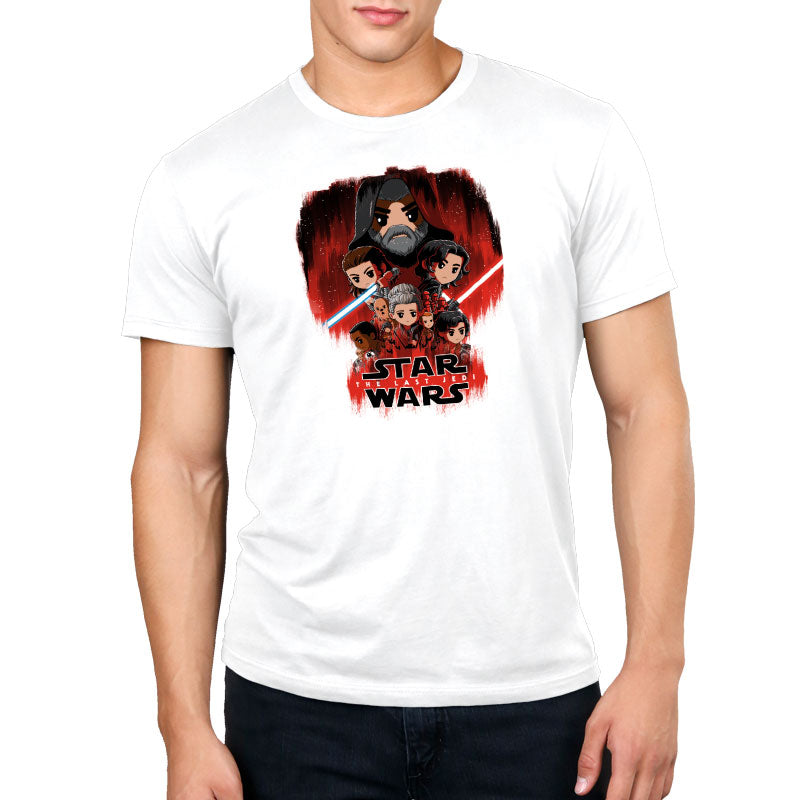 The Last Jedi Standard T-Shirt Model Star Wars TeeTurtle