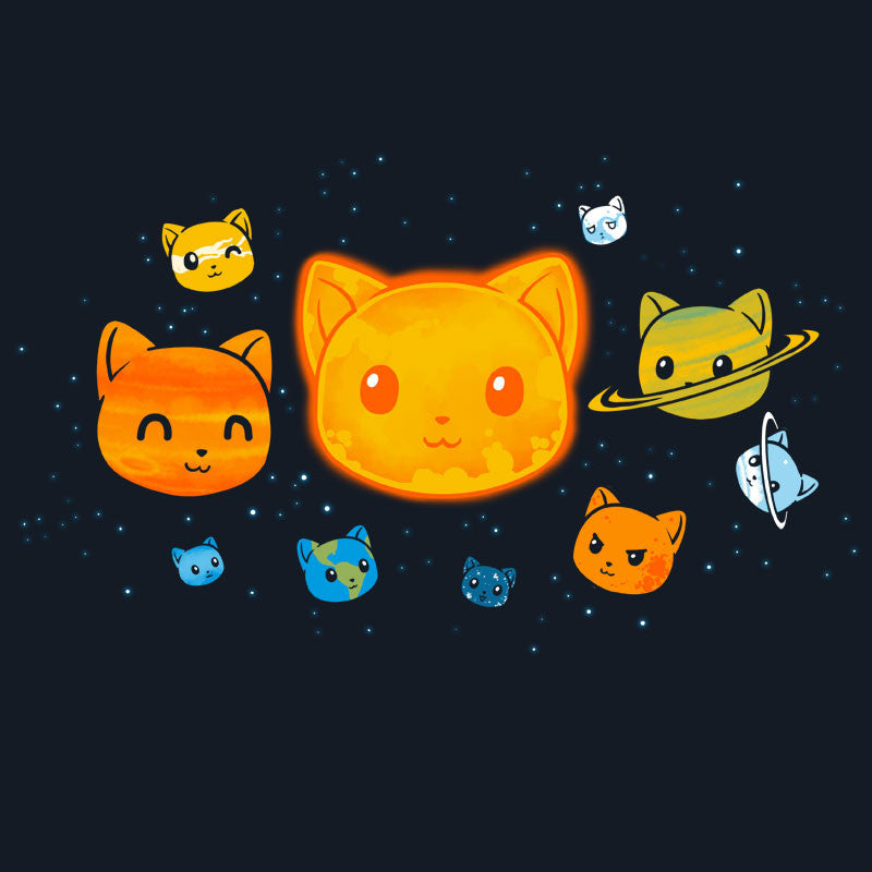 The Solar System T-Shirt TeeTurtle