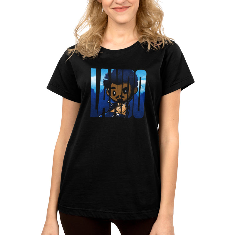 They Call him Lando Women's T-Shirt Model Star Wars TeeTurtle