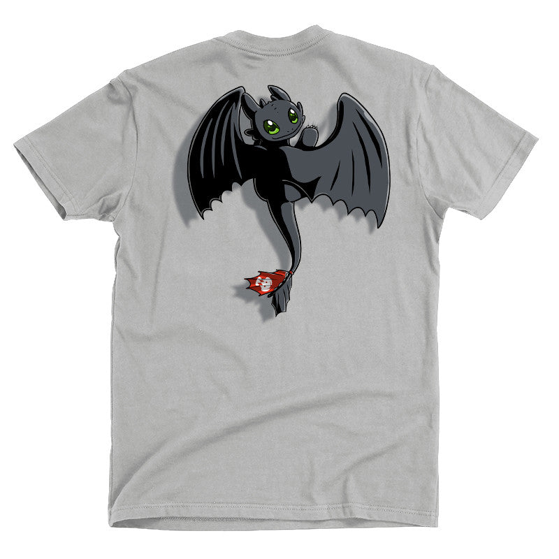 Toothless On Your Back t-shirt How To Train Your Dragon TeeTurtle