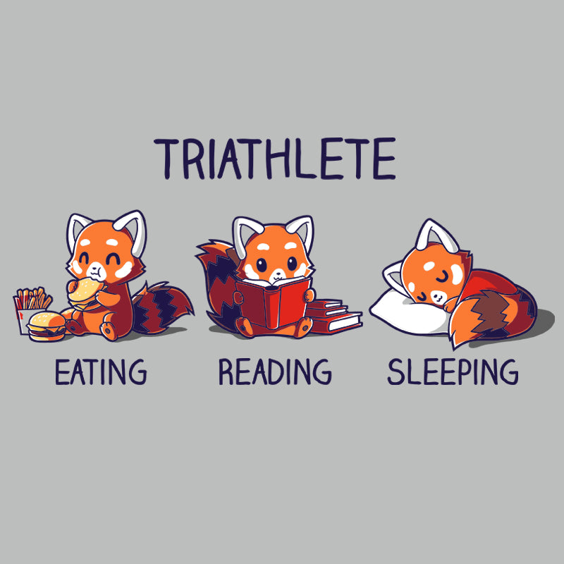 Triathlete (Reading) T-Shirt TeeTurtle