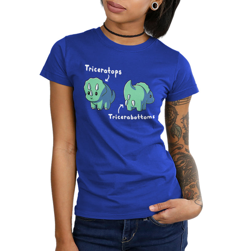 Triceratops Juniors T-Shirt Model TeeTurtle