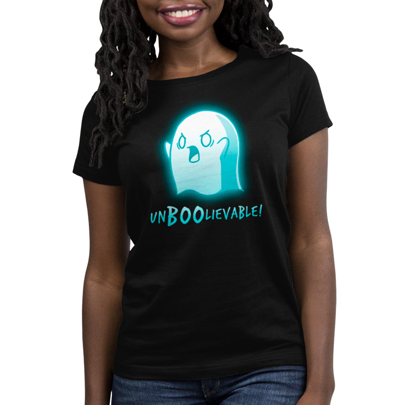 Un-Boo-Lievable Women's T-Shirt Model TeeTurtle