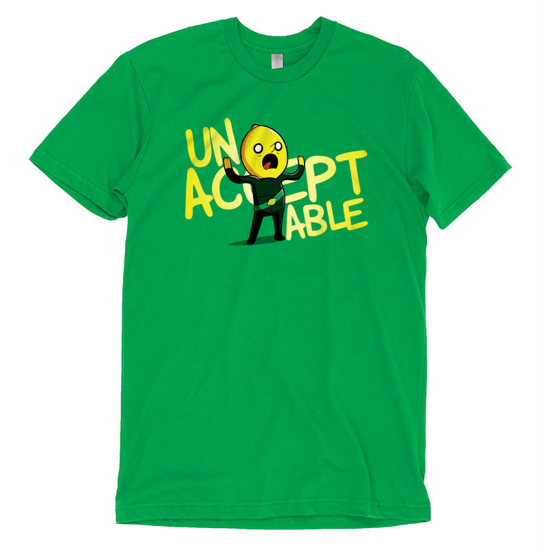 Unacceptable! T-Shirt Adventure Time TeeTurtle