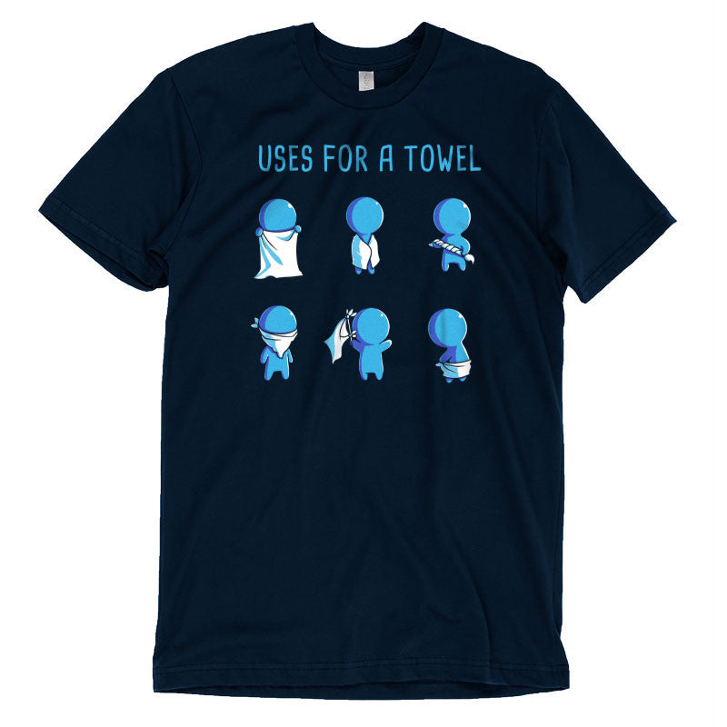 Uses for a Towel T-Shirt TeeTurtle