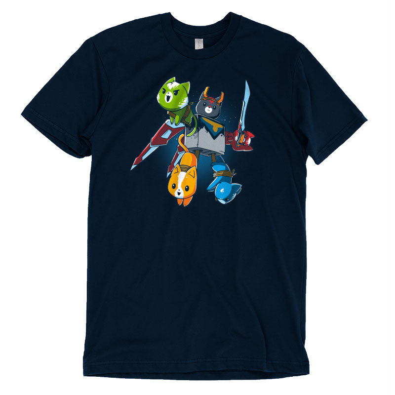 Voltron Cats T-Shirt Voltron TeeTurtle