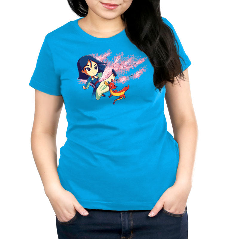 Warriors In Training Women's Relaxed Fit T-Shirt Model Disney TeeTurtle