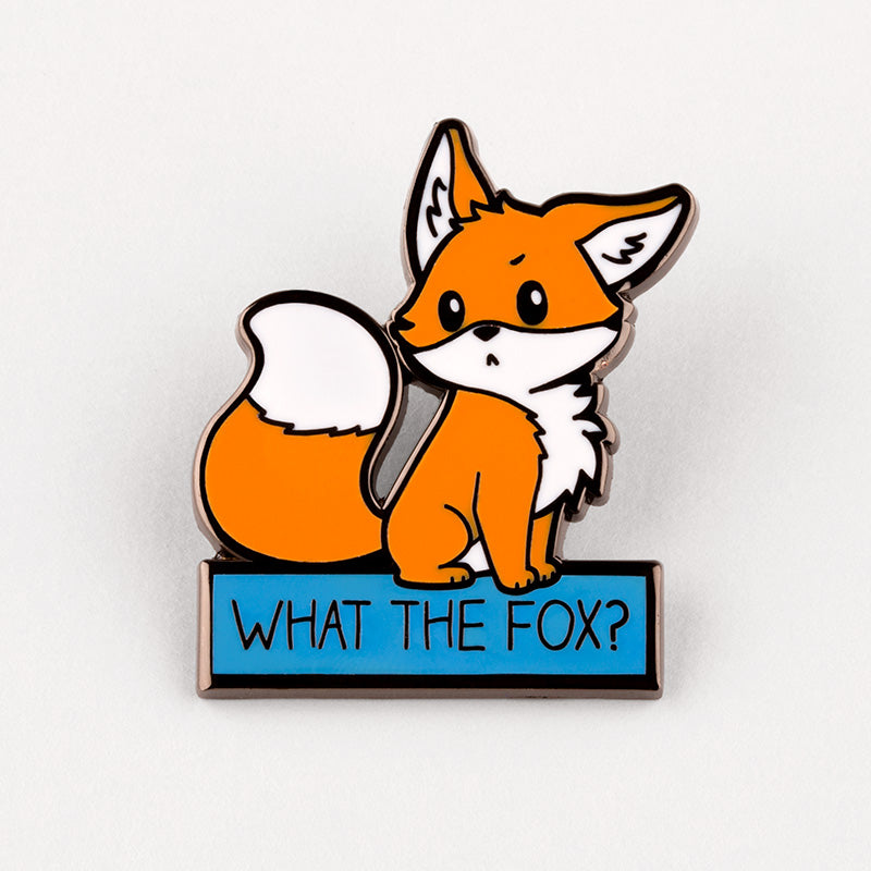 What the Fox? Charm Pin TeeTurtle
