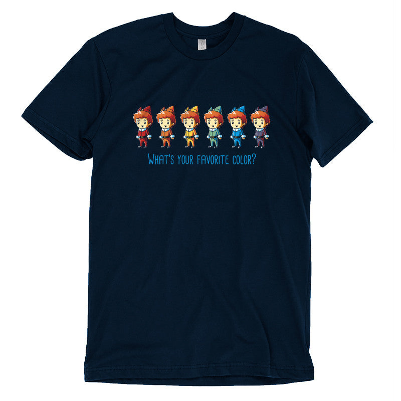 What's Your Favorite Color? T-Shirt Elf TeeTurtle