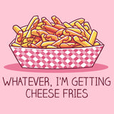 Whatever, I'm Getting Cheese Fries t-shirt TeeTurtle Mean Girls