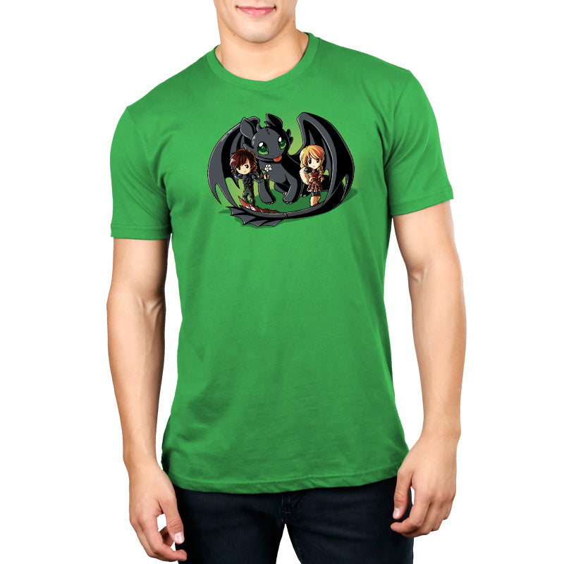 Wing Man Standard t-shirt model How To Train Your Dragon TeeTurtle