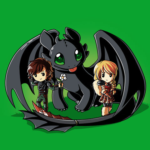 Wing Man t-shirt How To Train Your Dragon TeeTurtle