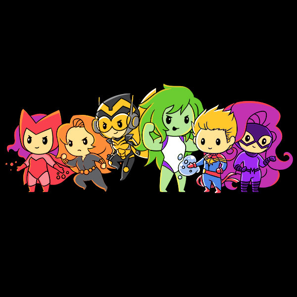 Women of Marvel Shirt T-Shirt Marvel TeeTurtle