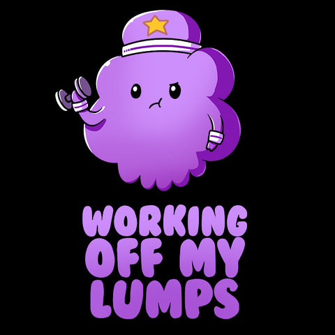 Working Off My Lumps t-shirt Adventure Time TeeTurtle