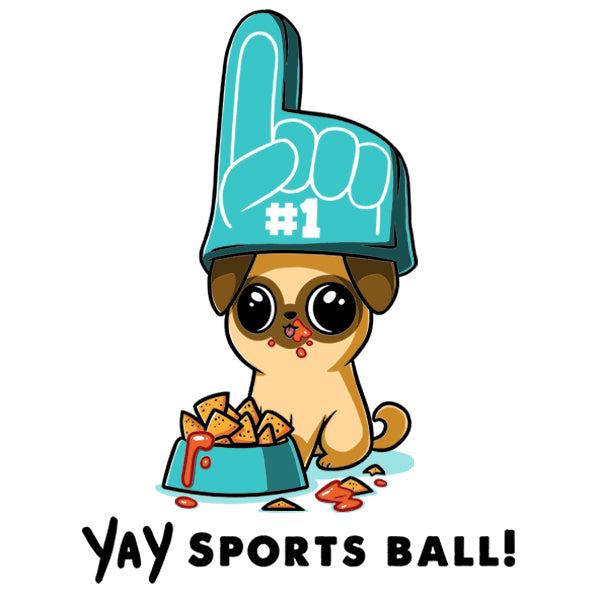 YAY Sports Ball! T-Shirt TeeTurtle