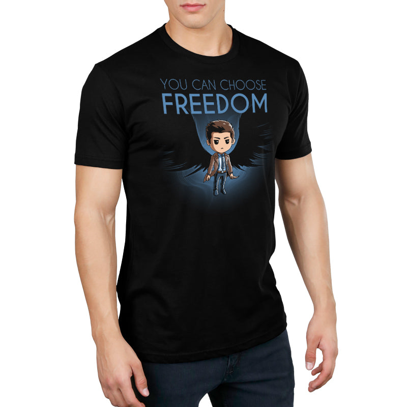 You Can Choose Freedom Standard T-Shirt Model Supernatural TeeTurtle