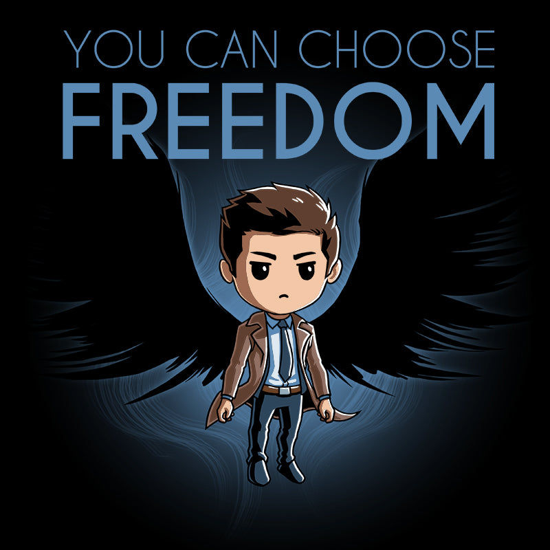 You Can Choose Freedom T-Shirt Supernatural TeeTurtle