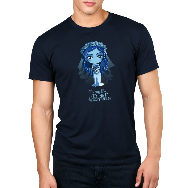 You May Kiss the Bride Standard Unisex t-shirt model Corpse Bride TeeTurtle