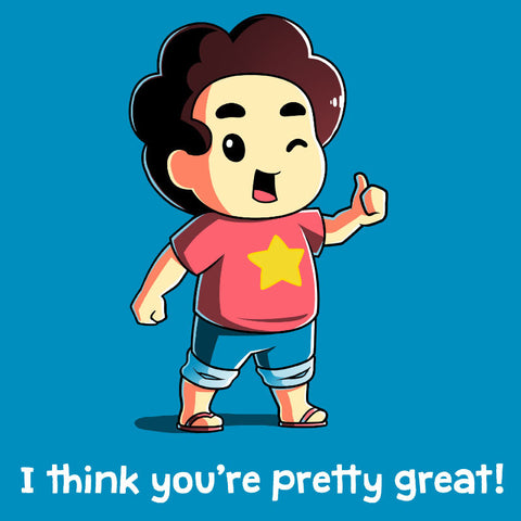 You're Pretty Great! T-Shirt Steven Universe TeeTurtle
