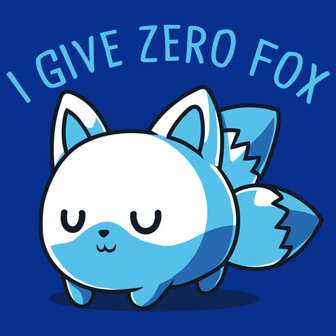 Mini I Give Zero Fox T-Shirt TeeTurtle