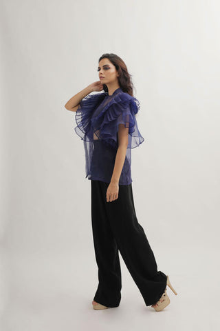 BOUQET Sleeve tie up Top