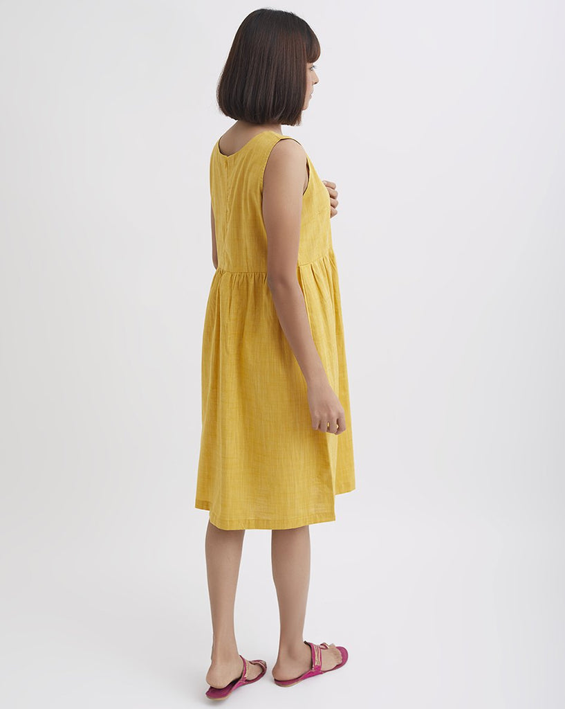 MARIGOLD Tassel Dress