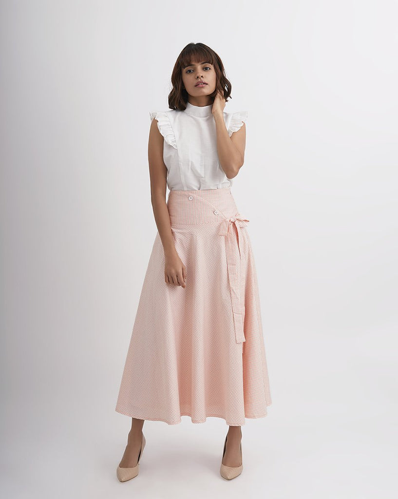 PEACHES 'N CREAM High Waisted Skirt
