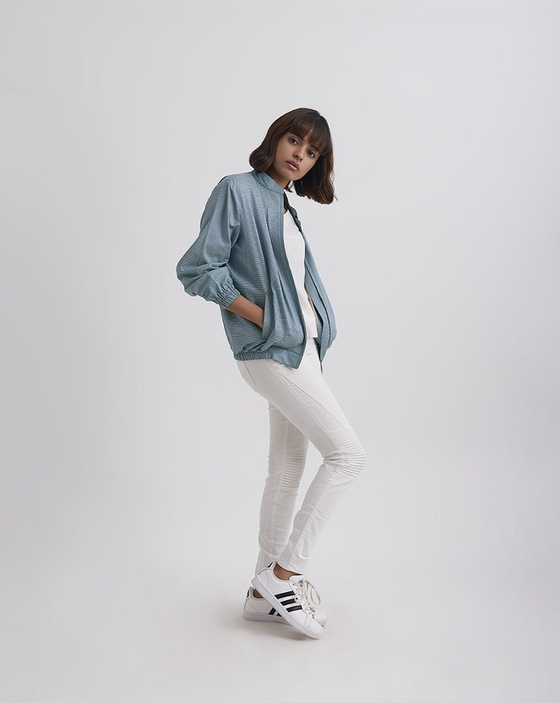 ON THE GO Bomber Jacket