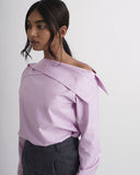 CRESCENT Turn up Collar Shirt