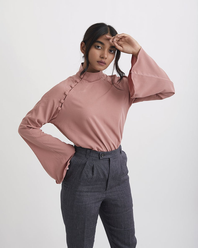 BELLFLOWER Sleeve Top