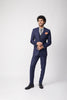 Aliph Pin Stripe Suit Set