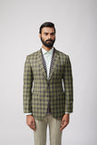 Yugen Sage Plaid Set