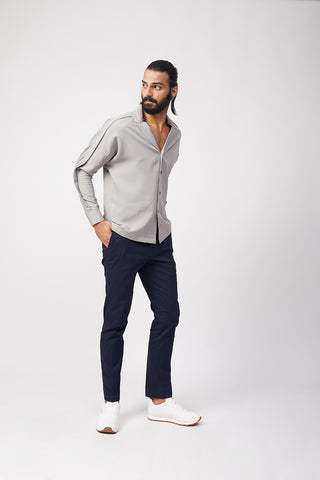 Cuban Collar Shirt