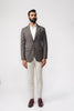 Yugen Brown Check Jacket