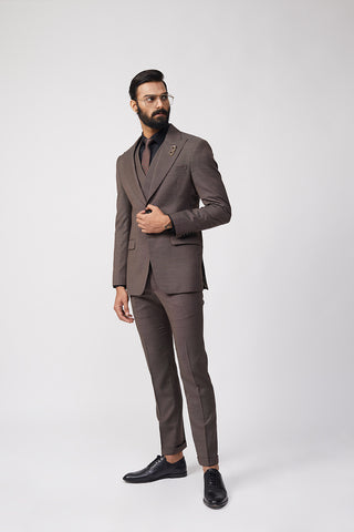 Aliph Chalk Stripe Suit