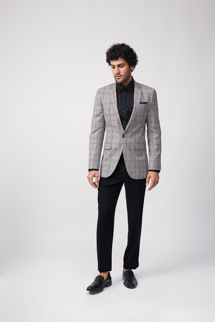Aliph Staples Check Jacket