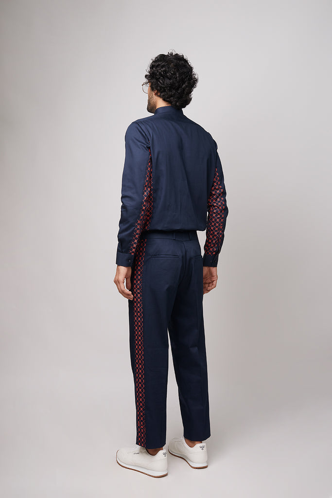 BB Panelled Trouser