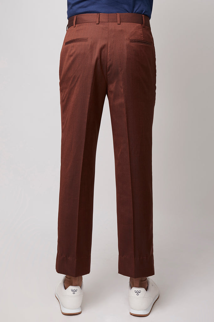 Pleated Pocket Pants