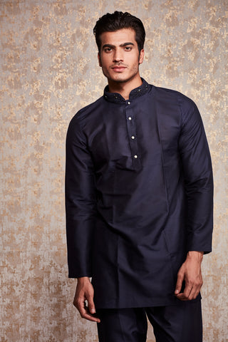 BUTTON DOWN KURTA SET