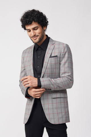 Chequered Jacket