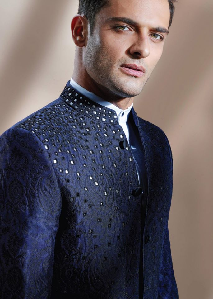 CUTWORK ELECTRIC SHERWANI