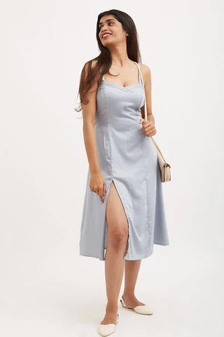 OFF TO SANTORINI Dress