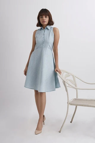 Scallop Roe Dress